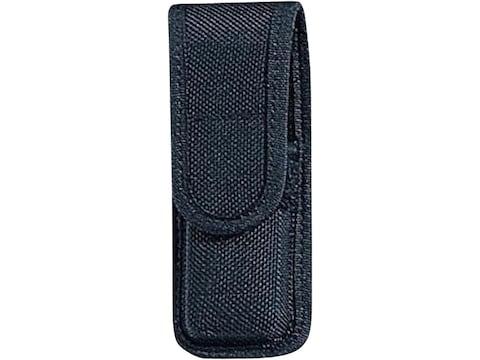 Bianchi 7303 Single Magazine Pouch or Knife Sheath Full Size Double Stack Nylon Black