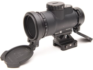 Trijicon MRO Patrol Red Dot Sight 2.0 MOA with Picatinny-Style 1/3 Co-Witness Quick-Release Mount Matte
