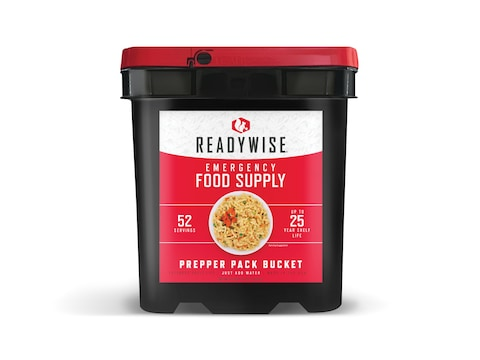 ReadyWise 52 Serving Prepper Pack Freeze Dried Food