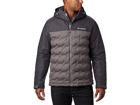 Columbia Men's Grand Trek Down Insulated Waterproof Jacket Polyester