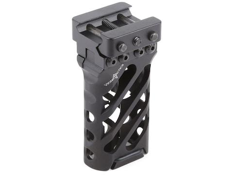 VTAC Ultra Light Vertical Grip Angled Aluminum Black