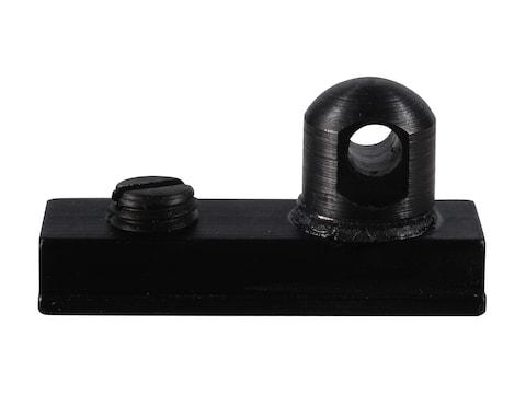 "Harris #6 Bipod Adapter Stud for European Rails 3/8"" Width Black"
