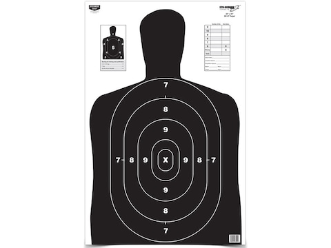 "Birchwood Casey Eze-Scorer BC27 Black Targets 23"" x 35"" Pack of 5"