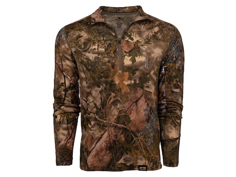 King's Camo Men's XKG Foundation 150 Merino 1/4 Zip Base Layer T-Shirt