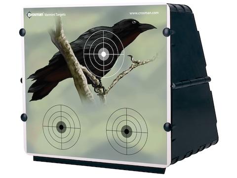 Crosman Collapsible Air Gun Pellet Trap with 12 Targets
