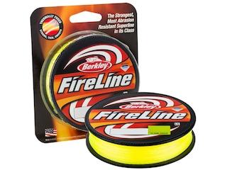 Berkley FireLine Braided Fishing Line 8lb 125yd Flame Green