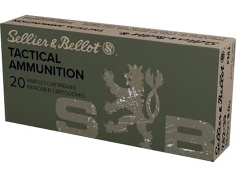 Sellier & Bellot Ammunition 7.62x39mm 124 Grain Full Metal Jacket