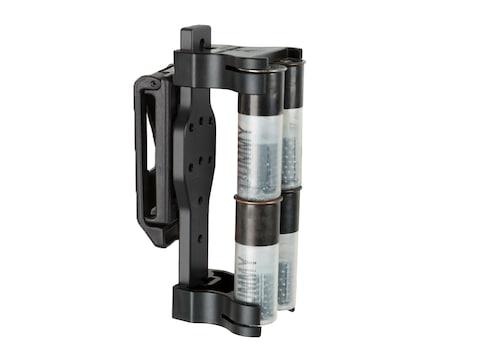 Safariland Model 086 Single 4 Round Shotgun Shell Holder Belt Clip Aluminum