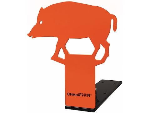 Champion Hog Pop-Up Reactive Target 22 Caliber Rimfire Steel