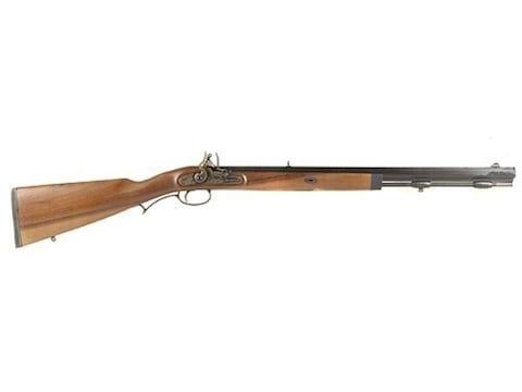 """Lyman Deerstalker Muzzleloading Rifle Flintlock Wood Stock 1 in 48"""" Twist 24"""" Barrel Blue"""