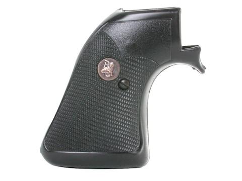 Pachmayr Presentation Grips Ruger New Model Blackhawk, Single Six Rubber Black