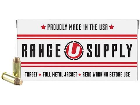 Underwood Range Supply Ammunition 10mm Auto 180 Grain Full Metal Jacket Box of 50