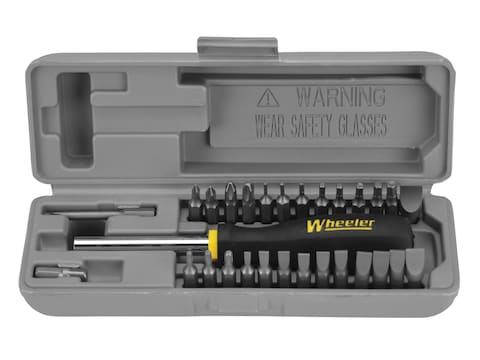 Wheeler 28-Piece Space-Saver Gunsmithing Screwdriver Set
