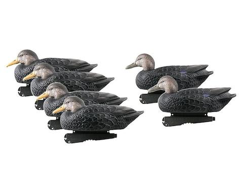 GHG Over-Size Black Duck Decoy Pack of 6