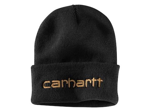 Carhartt Men's Knit Insulated Logo Graphic Cuffed Beanie