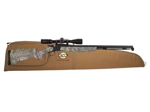 """CVA Optima V2 Muzzleloading Rifle with KonusPro 3-9 x40mm Scope 50 Caliber 26"""" Fluted N..."""