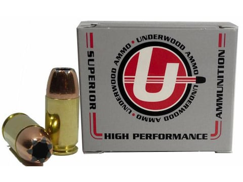 Underwood Ammunition 45 GAP 230 Grain Jacketed Hollow Point Box of 20