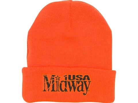 MidwayUSA Beanie Blaze Orange