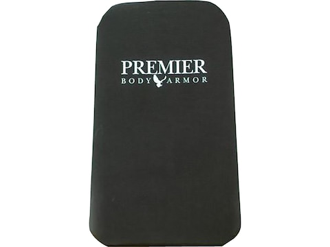 Premier Body Armor 12x20 Vertx Gamut Plus Level IIIA Backpack Panel Black