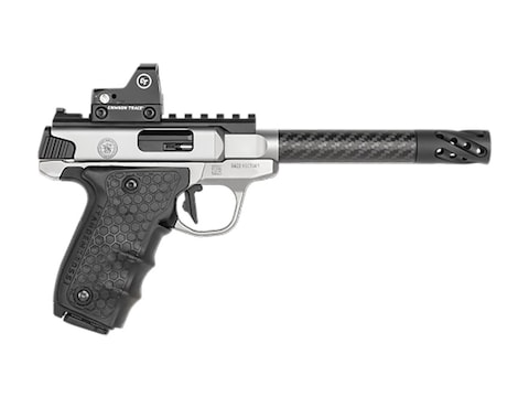 "Smith & Wesson Performance Center SW22 Target 22 Long Rifle Semi-Automatic Pistol 6"" Ba..."