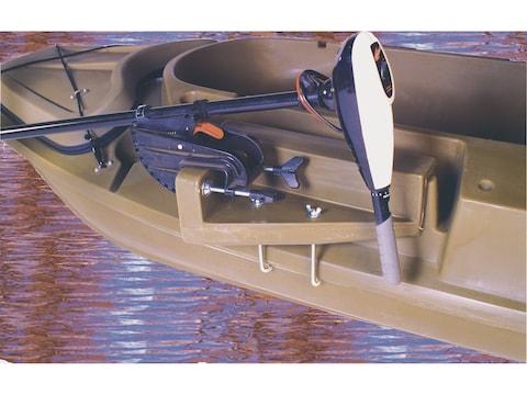Beavertail Stealth Sneak Boat Motor Mount for Stealth 1200 Marsh Brown