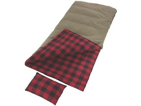 Coleman Big Game -5 Degree Big & Tall Sleeping Bag Polyester Brown