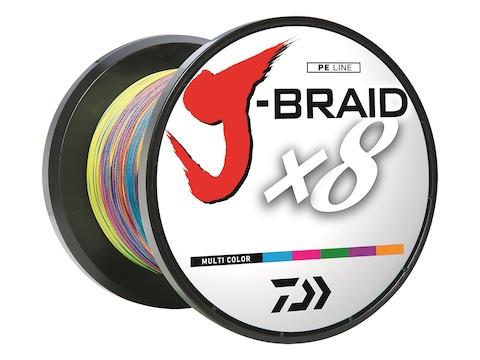 Daiwa J-Braid x8 Braided Fishing Line