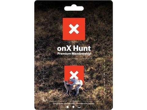 OnX Hunt Maps Premium Hunt 1 Year Membership