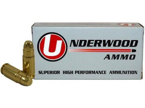 Underwood Ammunition 9x25 Dillon 125 Grain Full Metal Jack Box of 50