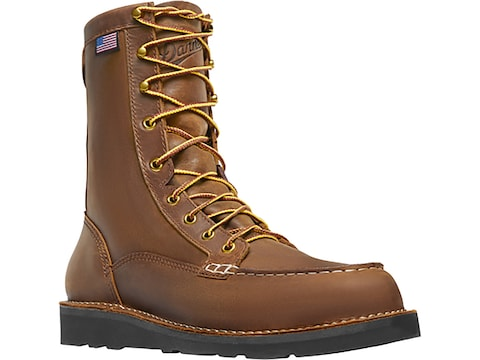 "Danner Bull Run 8"" Work Boots Leather Men's"