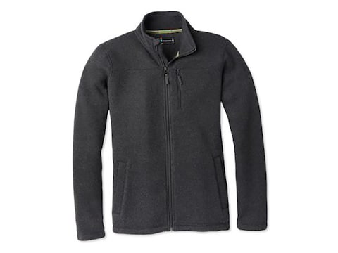Smartwool Men's Hudson Trail Fleece Jacket Polyester/Merino Wool