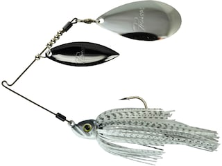 Picasso Inviz Wire Pro Willow/Indiana Spinnerbait 3/8oz Bling Shad Nickel