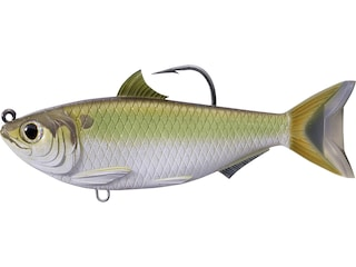 "LIVETARGET Threadfin Shad 3.5"" Swimbait Green/Bronze"