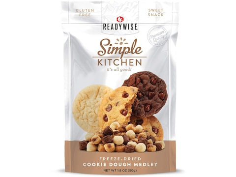 ReadyWise Simple Kitchen Cookie Dough Medley Freeze Dried Food