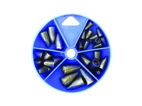 Eagle Claw Worm Weight Sinker Assortment