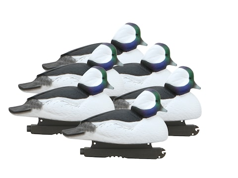 GHG Foam Filled Over-Size Bufflehead Duck Decoy Pack of 6