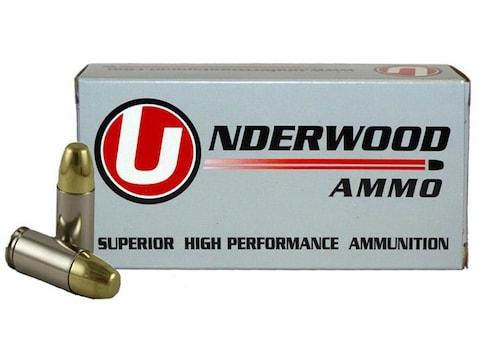 Underwood Ammunition 9mm Luger +P+ 147 Grain Full Metal Jacket Box of 50