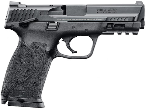 """Smith & Wesson M&P9 M2.0 Pistol 9mm Luger 4.25"""" Barrel 17-Round Black with Thumb Safety"""