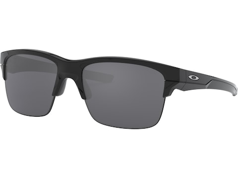 Oakley Thinlink Sunglasses Polished Black Frame/Black Iridium Lens