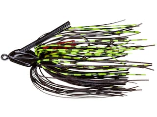 BOOYAH Swim'N Jig Black Chartreuse 1/2 oz