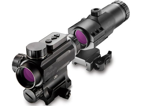 Burris AR-1X Prism Sight 1x 32mm with Integral Picatinny-Style Mount Matte with AR-Trip...