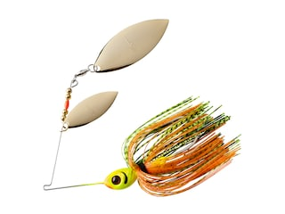 BOOYAH Blade Double Willow Spinnerbait 1/2oz Perch Gold