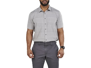 5.11 Men's Ellis Short Sleeve Shirt Steam Large