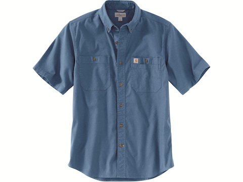 Carhartt Men's Rugged Flex Rigby Short Sleeve Shirt