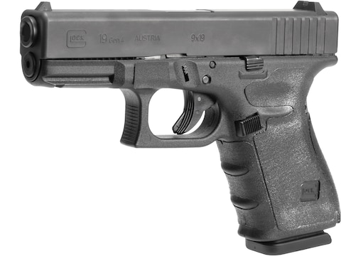 Hogue Wrapter Grip Glock 19, 19 MOS, 23, 32 Gen 4 Small Frame Compact Small Backstrap R...