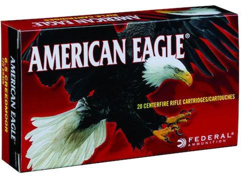 Federal American Eagle Ammunition 6.5 Creedmoor 120 Grain Total Metal Jacket