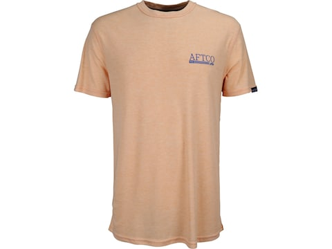 AFTCO Men's Anytime Dri-Release Performance Short Sleeve T-Shirt