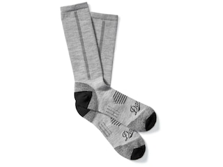 Danner Men's Lightweight Crew Hiking Socks Merino Wool/Nylon Gray XL (12.5-15.5)