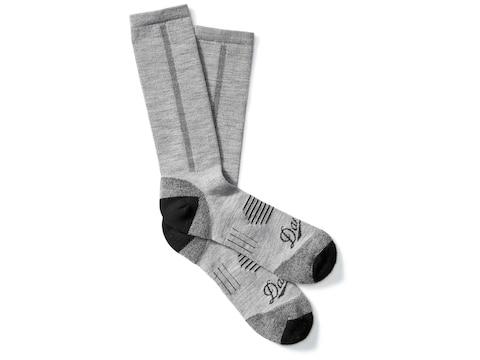 Danner Men's Lightweight Crew Hiking Socks Merino Wool/Nylon Gray