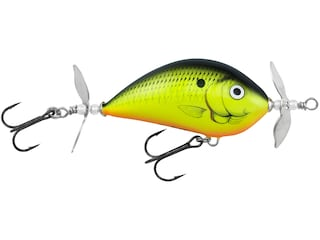 Bagley Pro Sunny B Twin Spin 07 Topwater Chartreuse Shad